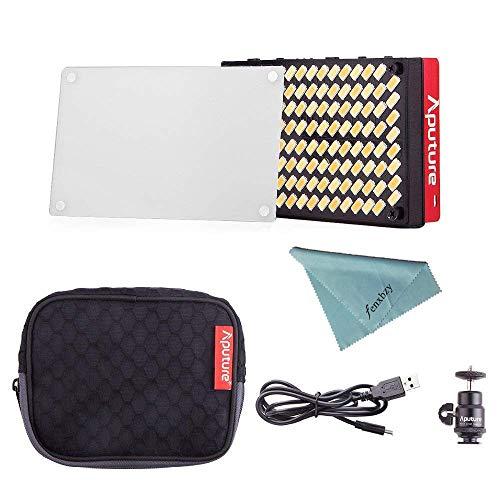 Aputure AL-MX LED Video Color Temperature 2800-6500k TLCI/CRI 95+ On Camera Fill Light Pocket Sized Tiny LED Lighting by Aputure (Image #6)