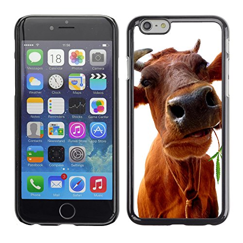 Premio Sottile Slim Cassa Custodia Case Cover Shell // V00001782 Cow manger // Apple iPhone 6 6S 6G PLUS 5.5""