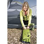Klymit Static V2 Sleeping Pad, Ultralight, (12% Lighter), Great for Camping, Hiking, Travel and Backpacking 10 NEW AND IMPROVED: The most popular camping pad on Amazon just got 12% lighter and more backpacker friendly; Weighs only 16.33 oz INCREDIBLY LIGHTWEIGHT: New high end lighter fabrics for smaller pack size and weight.Dimensions: Inflated 72 x 23 x 2.5 inches V-CHAMBER DESIGN limits air movement and heat loss; Also provides better support and comfort
