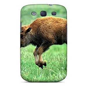 Hot VkTtKqF6602Wpcdi Nature Animals Bison Baby Animals Tpu Case Cover Compatible With Galaxy S3