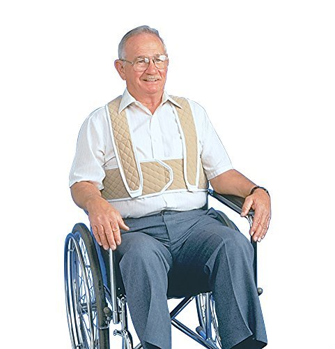 (Posey 3656L Torso Support for Wheelchair, Large)