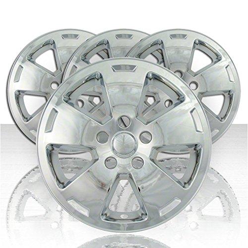 16 chrome hubcaps impala - 7