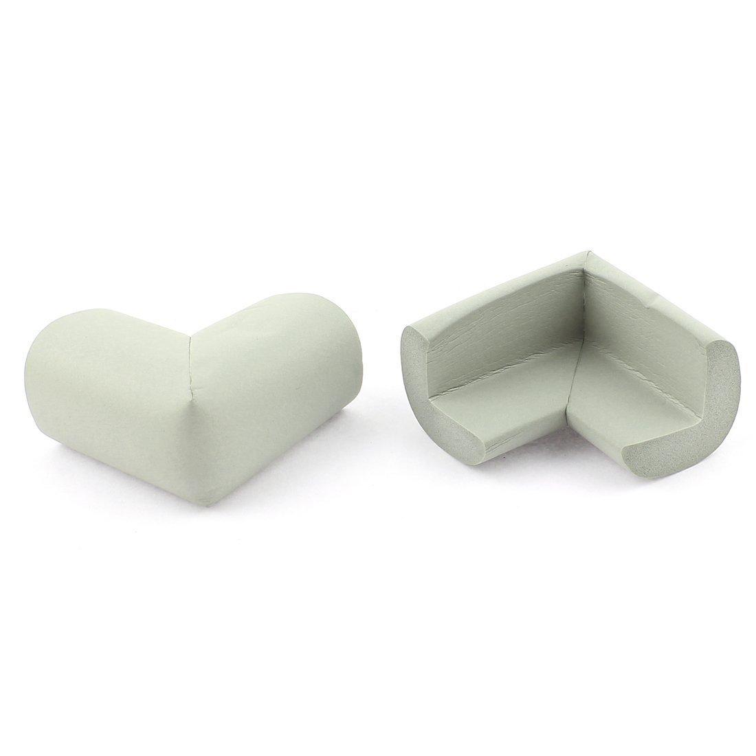 sourcingmap Table Desk Shelves Edge Corner Cushion Safety Protector 2Pcs Blue a15091400ux0360