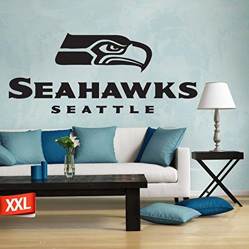 Seahawks decal, Seahawks sticker, Seattle Seahawks decal, Seattle Seahawks logo decal, NFL logo decal, Seattle Seahawks, Seahawks large decal pf22 (22