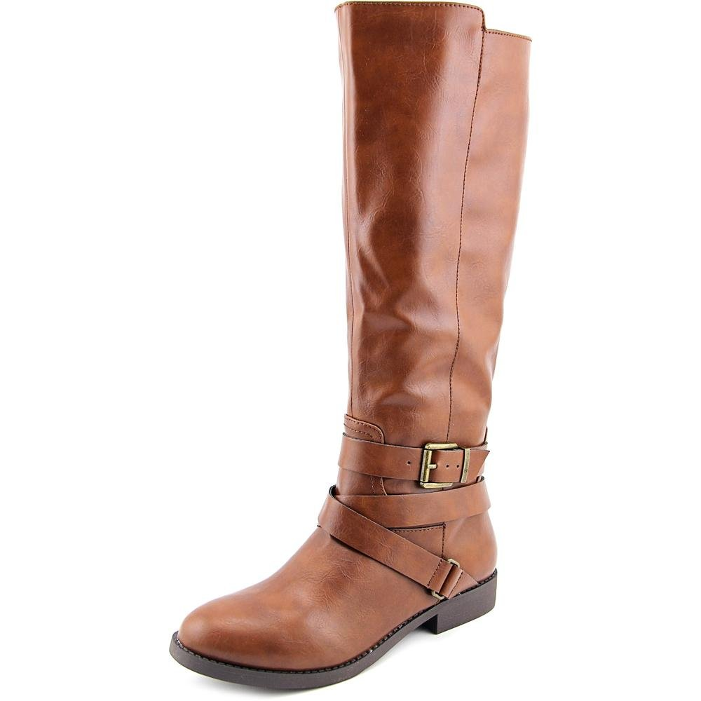 Style & Co. Womens Lolah Closed Toe Knee High Fashion Boots, Cognac, Size 8.5