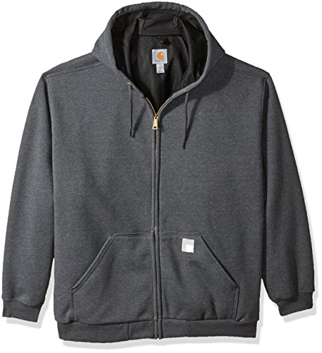 Carhartt Men's Big and Tall B&t Rd Rutland Thermal Lined Hooded Zip Front Sweatshirt