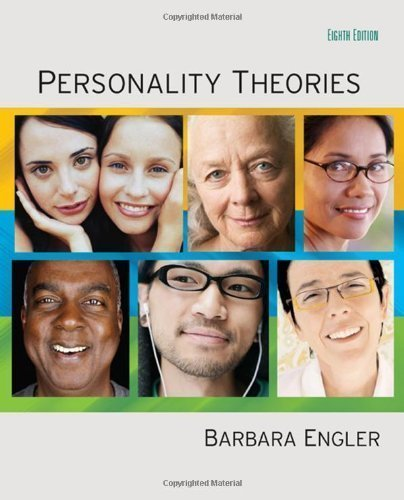 Personality Theories 8th (eighth) Edition by Engler, Barbara (2008)