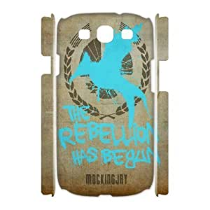 3D Samsung Galaxy S3 Cases The Hunger Games Quotes Mockingjay The Rebellion Has Begun, Girl Protective The Hunger Games Cases Yearinspace, {White}