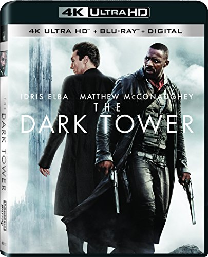 4K Blu-ray : The Dark Tower (With Blu-Ray, Ultraviolet Digital Copy, Widescreen, , Dubbed)