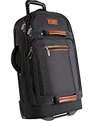 ORIGINAL PENGUIN Luggage 30 Large Bag Rolling Duffel, Black, One Size