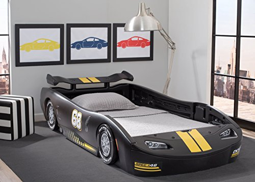 Delta Children Turbo Race Car Twin Bed 2