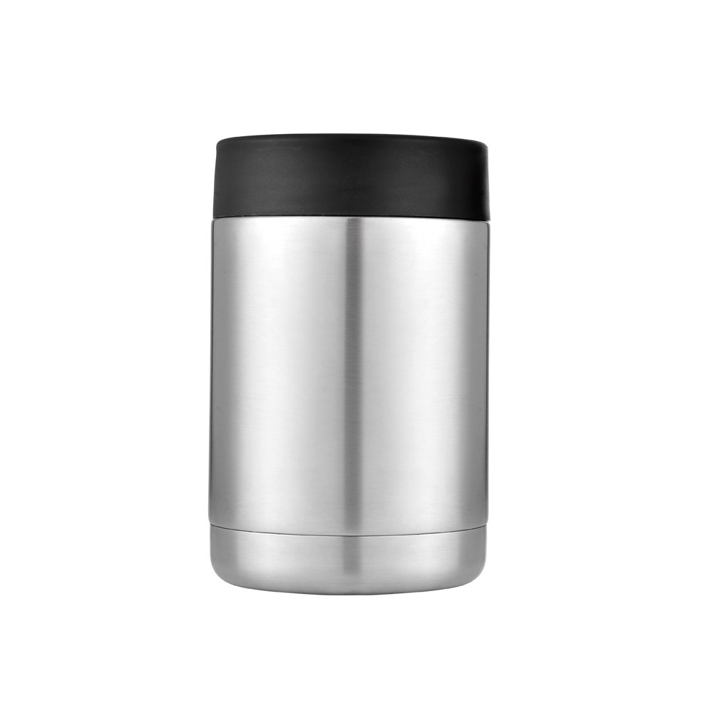 Gtell 12oz Rambler colster, Double Wall Stainless Steel Insulated colster Keeping hot and Cool.Can Cooler Beer& Holder