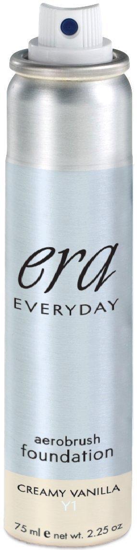 ERA Beauty Everyday Foundation Makeup, Y1 Vanilla, 2.25 Ounce