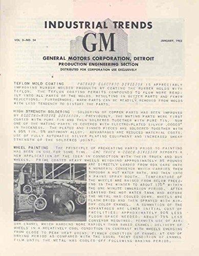 1953 General Motors Engineering Brochure