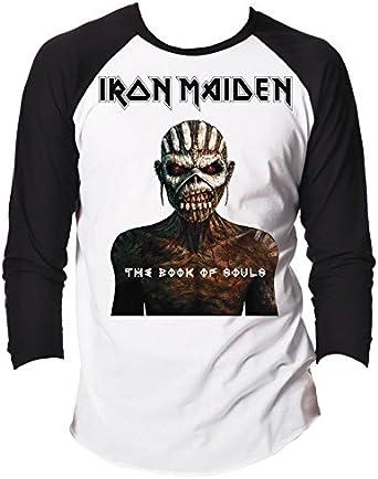 Rock - Camiseta de manga larga - para hombre blanco blanco Small: Amazon.es: Ropa y accesorios