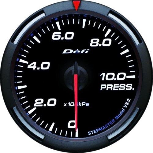 Defi DF11606 Racer PSI Pressure Gauge, White, 60mm