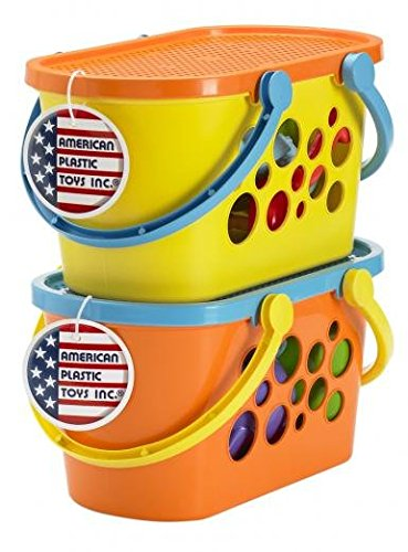 American Plastic Toys Beach Basket Set 02220