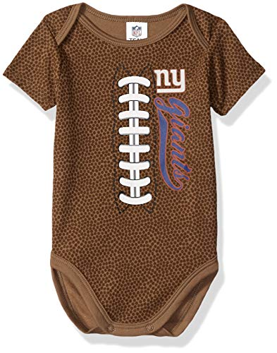 - NFL New York Giants Unisex-Baby Football Bodysuit, Brown, 18 Months