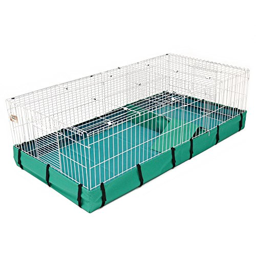 Guinea Habitat Plus Guinea Pig Cage by MidWest w/ Top Panel, 47L...
