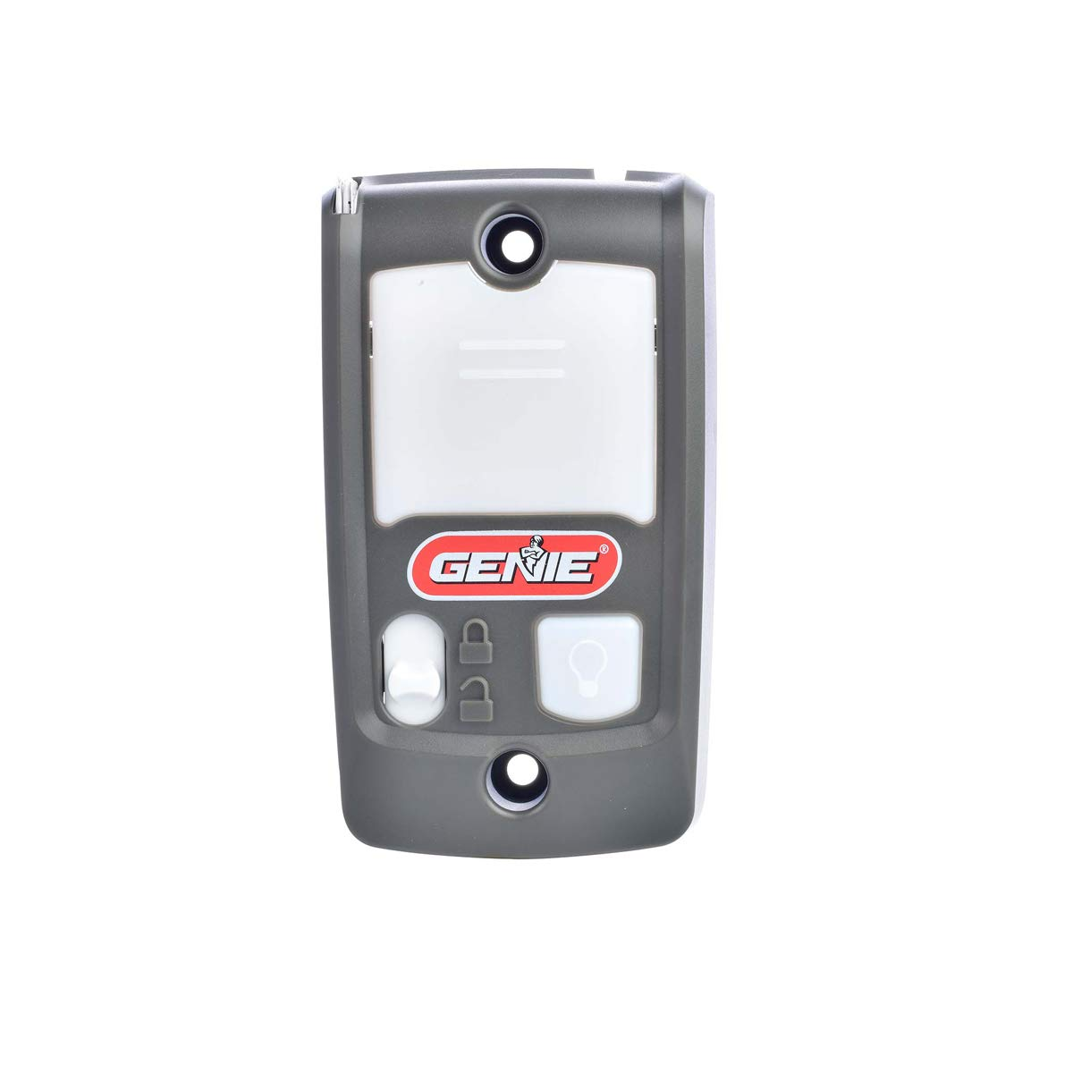 Genie Series II Garage Door Opener Wall Console - Sure-Lock/Vacation Lock for Extra Security - Light Control Button -  Compatible with All Genie Series II Garage Door Openers - Model GBWCSL2 by Genie
