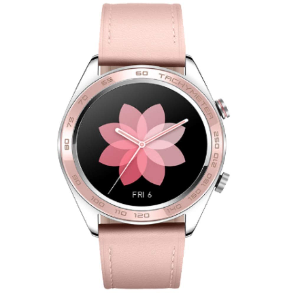 AutumnFall Ladies Cherry Series Huawei Honor Watch Dream Smart Watch Sport Sleep Run Cycling Swimming (Pink)