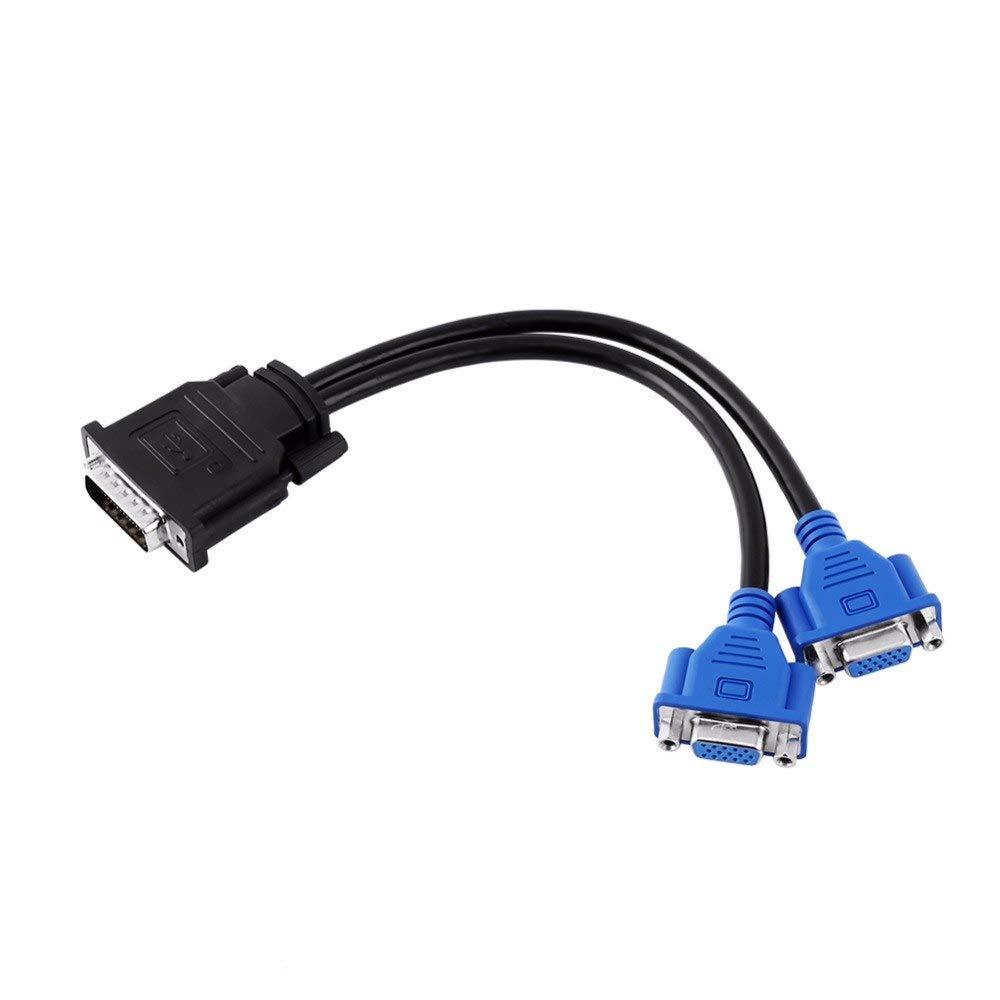 Amazon.com: ATI Radeon 3450 256MB PCI-e x16 DMS-59 (DMS-59 to VGA Splitter Cable Included) Dual Monitor Ready Low Profile Video Graphics Card ...