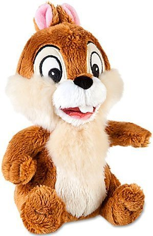 Disney Chip n Dale Rescue Rangers Exclusive 7 1/2 Inch Plush Chip