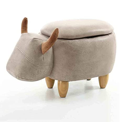 Outstanding Amazon Com Ycsd Animal Storage Ottoman Footstool Shoes Andrewgaddart Wooden Chair Designs For Living Room Andrewgaddartcom