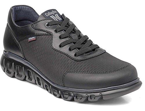 De Negro Hombre Cordones Zapatos Para Squalo Derby Callaghan zq6Aw