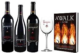 Vampire Vineyards Taste of Immortality Wine Gift Set 3 x 750 mL
