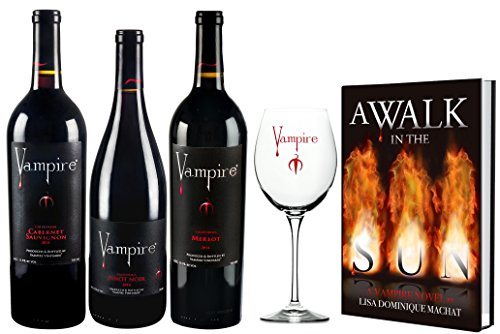Vampire Vineyards Taste of Immortality Wine Gift Set 3 x 750 mL