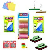 Sir Prize 26 Items Diwali Home Cleaning Set - Multi-Purpose Home Cleaning Hamper