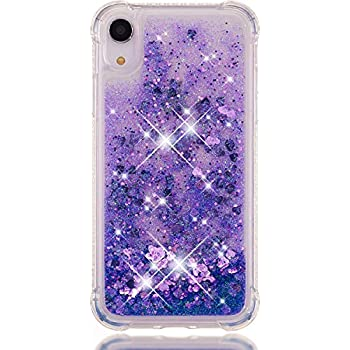 Amazon.com: iPhone XR Liquid Glitter Cases Bling Sparkle