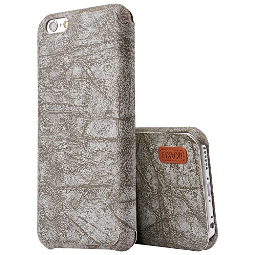 Best New Apple iphone 7 plus Case cover, Apple iPhone 7 plus Grey Designer Style Wallet Case Cover