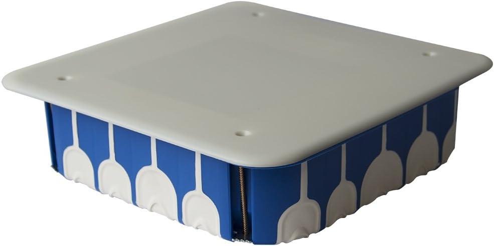 BLM bli690184 caja de derivación estanca (180 x 180 x 50 con tapa, azul: Amazon.es: Bricolaje y herramientas