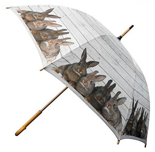 Regenschirm Kaninchen Hasen - Stockschirm Motivschirm AS4HOME