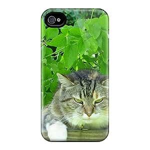 New Iphone 4/4s Case Cover Casing(my Cat Milo)