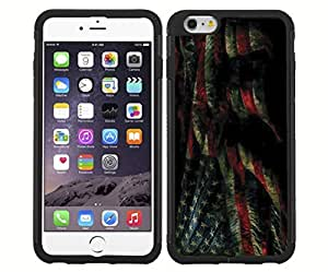 Grunge American Flag Rubber Snap on Phone Case (iPhone 6) by mcsharks