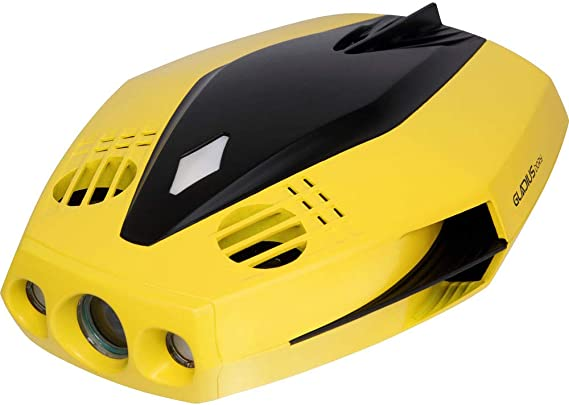 CHASING Dory World's Smallest and Affordable 5-Thruster Palm-Sized Underwater Drone. Camera Provides Photos and Real-time 720P Video