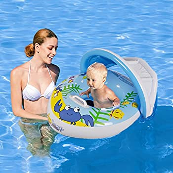 Amazon.com: Baby Pool Float Infant Swimming Ring with