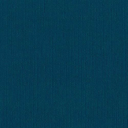Bazzill Bahama 12x12 Textured Cardstock | 80 lb Deep Turquoise Blue Scrapbook Paper | Premium Card Making and Paper Crafting Supplies | 25 Sheets per Pack ()