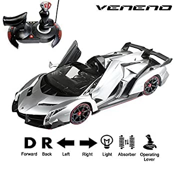 NEW Lamborghini Veneno 1:14 Scale, Gravity Sensor/Radio Control RC Vehicle  Model