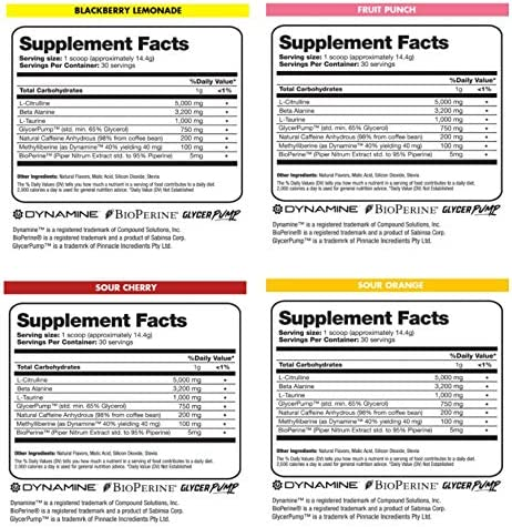 Flow Supplements Natural Pre-workout Powder