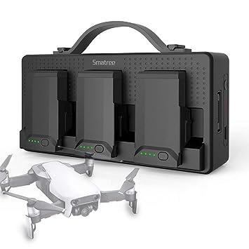 Smatree Cargador de Batería Portátil para dji Mavic Air ...