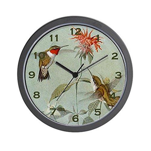 (CafePress Hummingbird Clock Unique Decorative 10