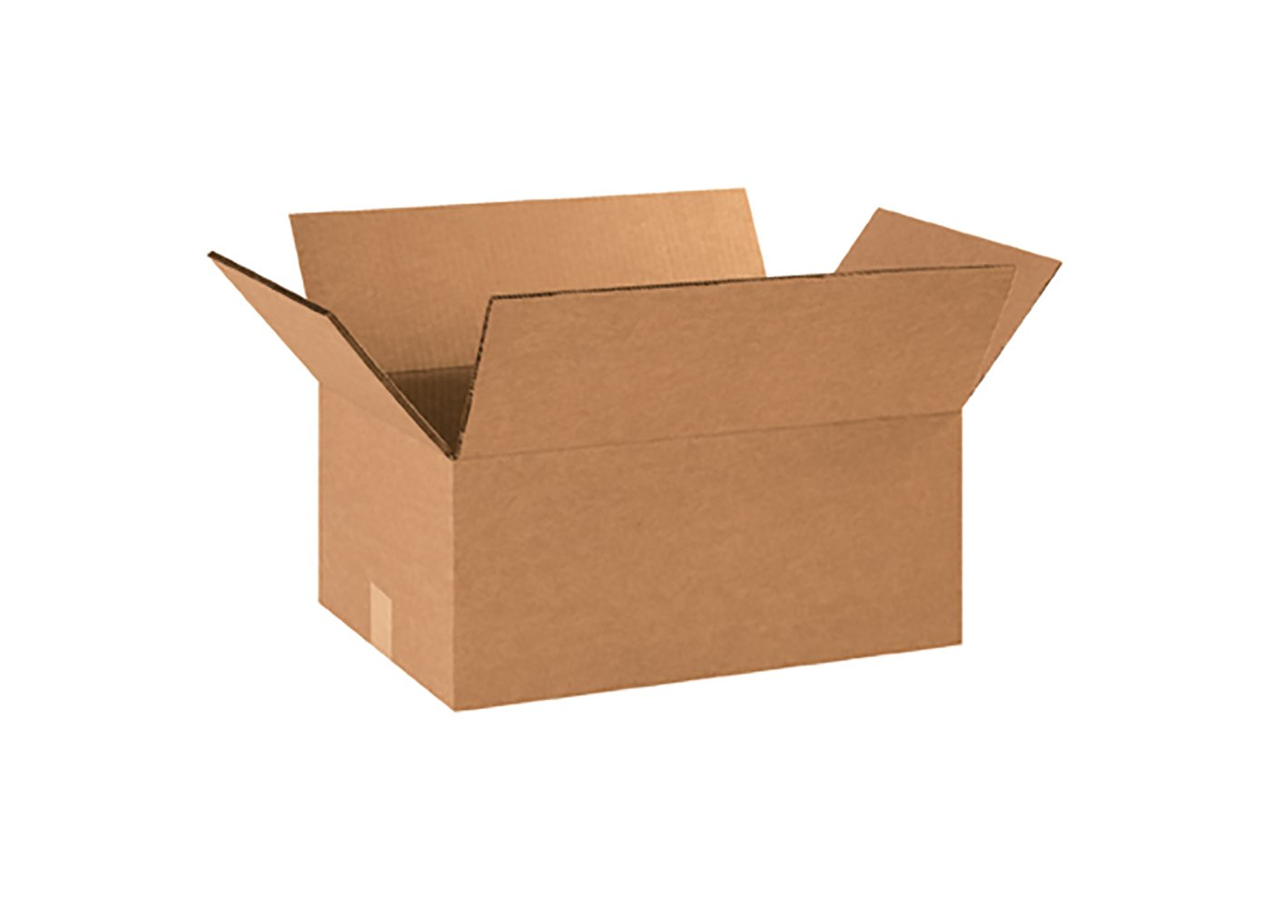 RetailSource B181206CB250 Corrugated Box, 6'' Height, 12'' Width, 18'' Length, Brown (Pack of 250)