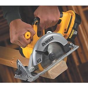 DEWALT DC390B 6-1/2-Inch 18-Volt Cordless Circular Saw (Tool Only) from Dewalt
