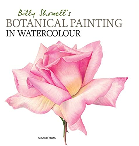 Billy Showells Botanical Painting in Watercolour