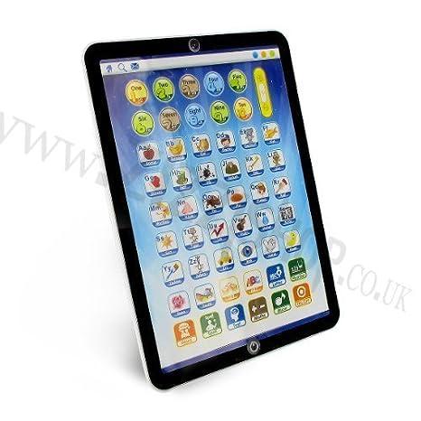 Zizzi - Shopmonk mi primer aprendizaje educativo tablet pc portátil ipad juego juguete niños chicos: Amazon.es: Juguetes y juegos