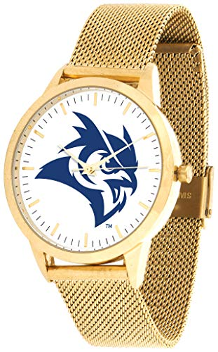 University Rice Owls Watch (Rice University Owls - Mesh Statement Watch - Gold Band)
